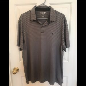 IZOD Golf with Stretch Short Sleeves Polo Shirt